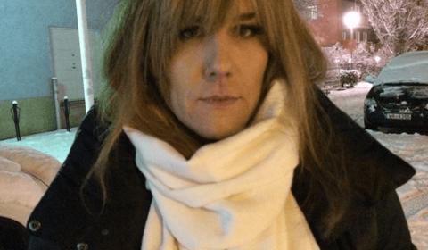 Filminspelning Martin Kagemark som Candy Darling i Livet är en schlager -14
