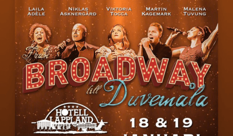 Från Broadway till Duvemåla affisch -19