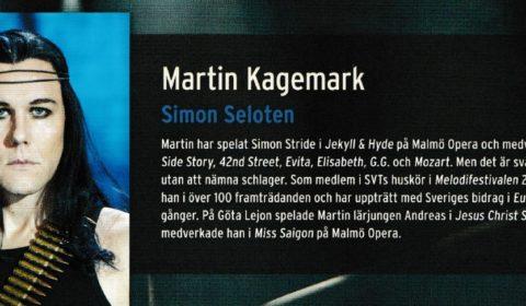 Martin Kagemark i Jesus Christ Superstar som Simon Seloten -14