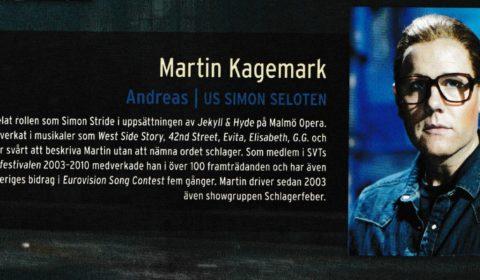 Martin Kagemark i Jesus Christ Superstar som Andreas us Simon Seloten -12