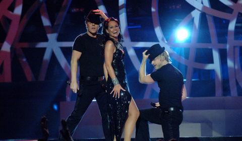 Melodifestivalen Linda Bengtzing + kör -06