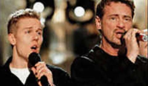 Melodifestivalen Martin och Christer Björkman -99