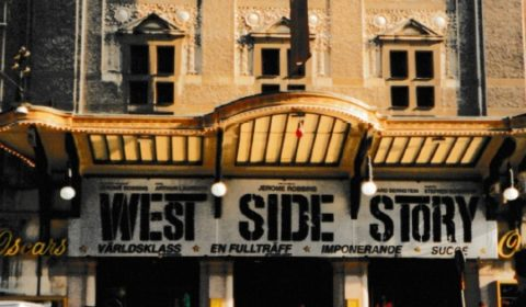 West Side Story utanför Oscarsteatern -97